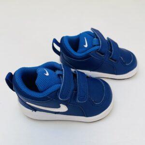 Sneakers velcro blauw Nike maat 19,5 / 10cm
