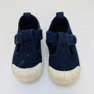 Sandalen donkerblauw H&M maat 20/21