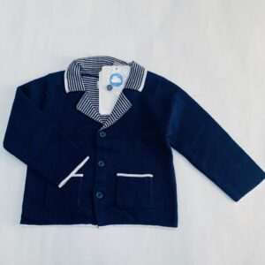 Gilet tricot donkerblauw Mayoral 6-9m / 75