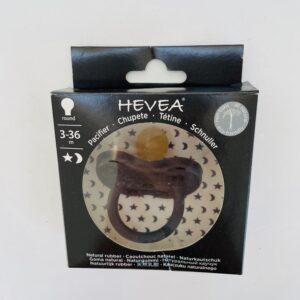Fopspeen round 3-36m Hevea