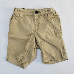 Beige short aanpasbaar H&M 12-18m / 86