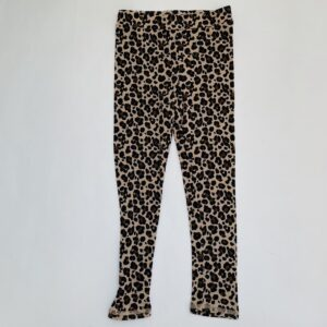 Wollen legging leopard H&M 5-6jr / 110/116