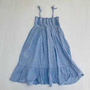 Kleedje sleeveless stripes frill H&M 5-6jr / 116