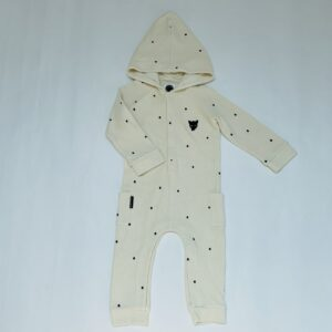 Hooded jumpsuit panter Sproet & Sprout 6-12m