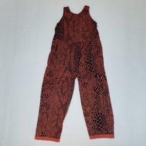 Jumpsuit sleeveless dierenprint Cos I said so 116/122