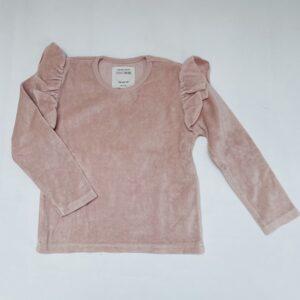 Sweater pink velvet Little Indians 2-3jr