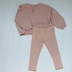 Joggingsetje pink Zara 3-4jr / 104