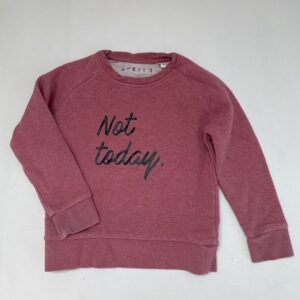 Sweater not today April 3 5-6jr / 110/116