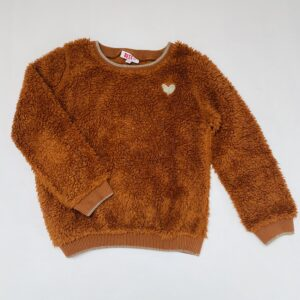 Teddy sweater bruin JBC 122