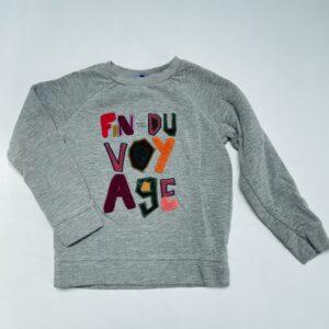 Gevoerde sweater Fin du voyage R'Belle 6jr / 116