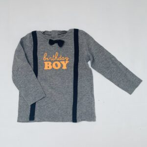 Longsleeve birthday boy JBC 18m / 86