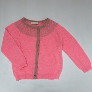 Gilet fluo pink Simple Kids 4jr