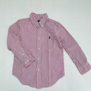 Hemd pink stripes Ralph Lauren 5jr