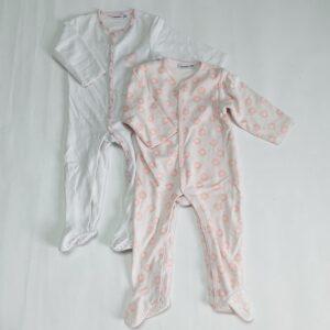 2x pyjama sun met voetjes Noukie's 18m / 86