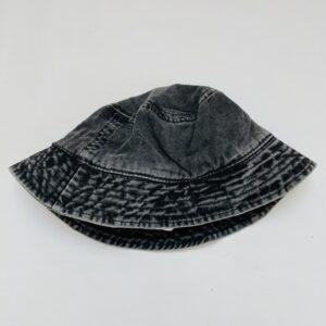 Zonnehoedje zwarte denim Zara 54cm