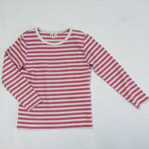Longsleeve pink stripes Arket 98/104