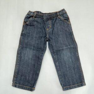 Donkere jeans met rekker Petit Bateau 24m / 86