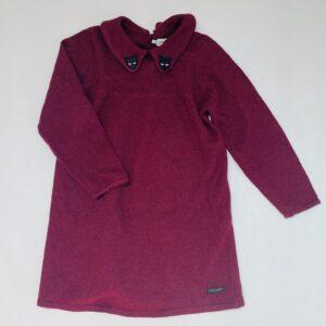 Kleedje longsleeve tricot panter Sproet & Sprout 5-6jr