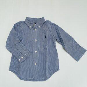 Hemd blue stripes Ralph Lauren 18m
