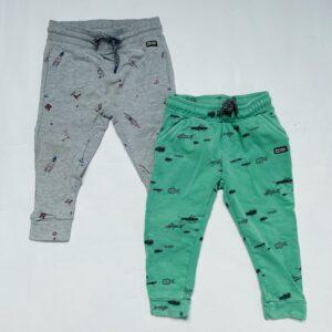 2x sweatpants raket / insects Tumble 'n Dry 86