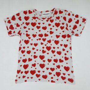 T-shirt hearts Mini Rodini 104/110