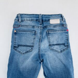 Ripped jeans superskinny fit Blue Ridge / WE Fashion 122