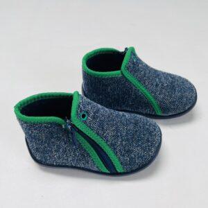 Pantoffels met rits Tooti maat 20
