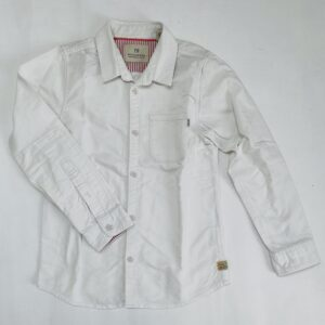 Dik wit hemd Scotch & Soda 8jr / 128