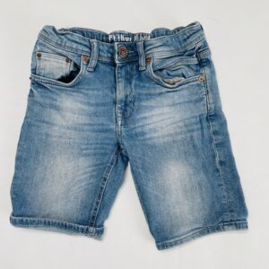Denim short aanpasbaar regular fit Petrol Jeans 140