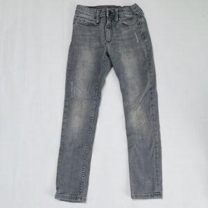 Grijze aanpasbare jeans ripped details Tommy Hilfiger 140