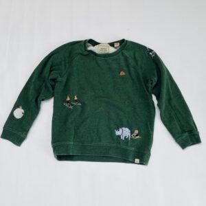 Groene sweater bergsport Scotch & Soda 10jr / 140
