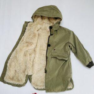 Harbour jacket kaki met teddy binnenin Bellerose 8jr