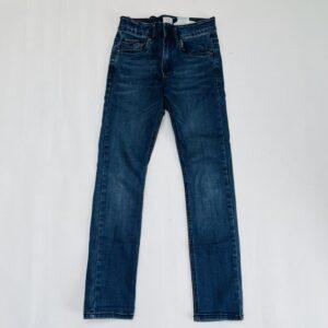 Donkerblauwe aanpasbare skinny jeans IKKS 10jr