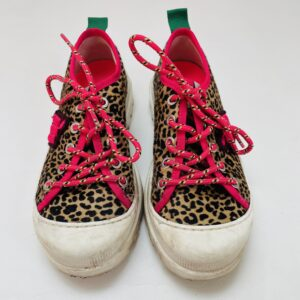 Leopard veterschoenen Maison Mangostan maat 32