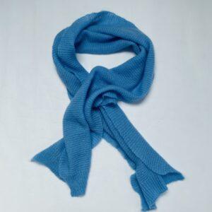 Sjaal tricot blauw Beck Sündergaard