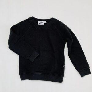 Basic sweater zwart Cos I said so 92/98
