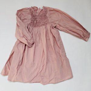 Lang kleedje pink met pofmouwen Zara 10jr / 140
