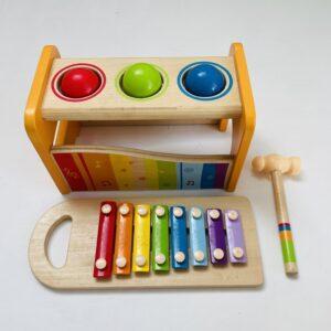 Hamerspel en xylofoon Hape