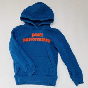 Hoodie blauw Peak Performance 140