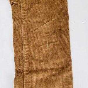 Ribfluwelen aanpasbare broek bruin Zara 10jr/ 140