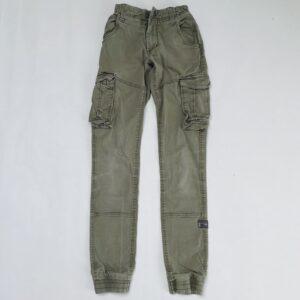 Aanpasbare kaki broek met zijzakken en rekker Name it 11jr / 148