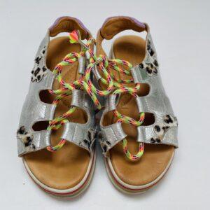 Sandalen silver/leopard Rondinella maat 33