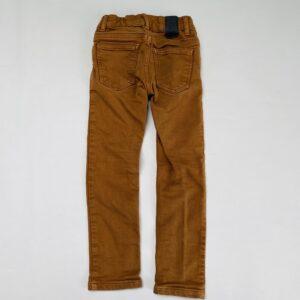 Aanpasbare bruine broek skinny fit JBC 110