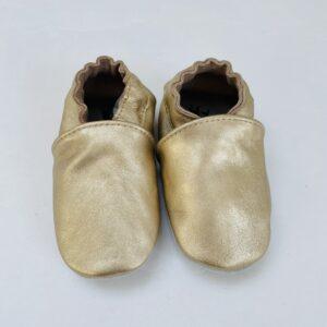 Babyslofjes gold Stabifoot 12-18m