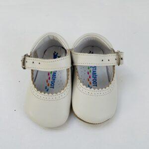 Schoentjes met gesp wit Stabifoot maat 17