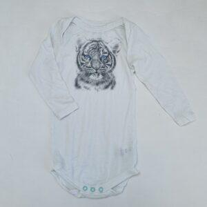 Body met lange mouwen tiger tencel Miss princess and little frog 18m / 86