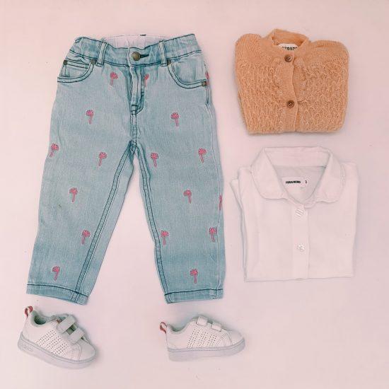tweedehands kledij outfit meisje